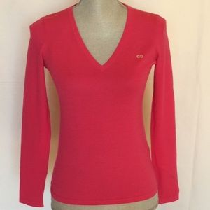 ESCADA SPORT V-neck Long Sleeves Sweater .
